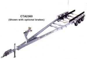 CTA 2360 Aluminum Boat Trailer