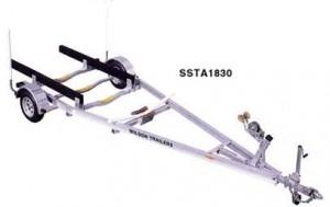 SSTA1830 Aluminum Boat Trailer