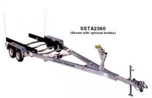 SSTA2360 Aluminum Boat Trailer